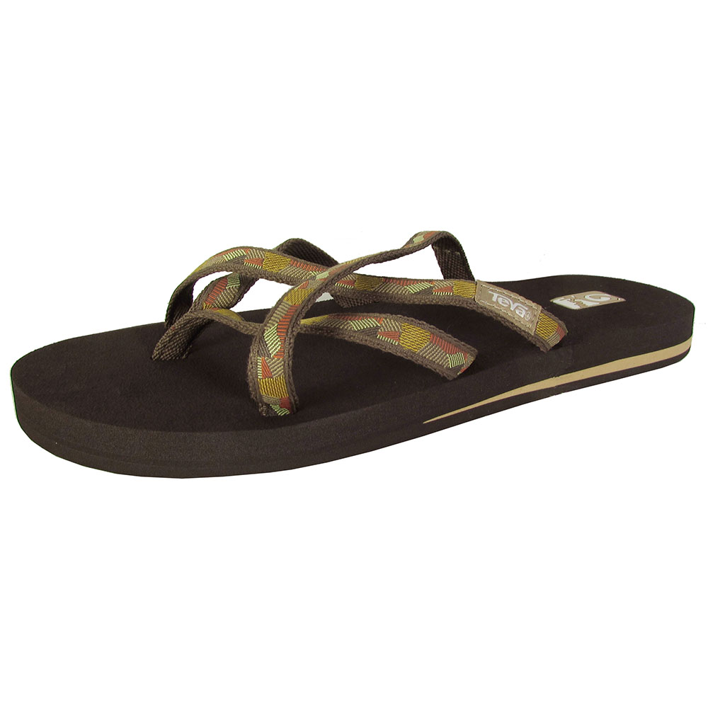 teva damen olowahu tanga zehentrenner sandalen schuhe ebay. Black Bedroom Furniture Sets. Home Design Ideas