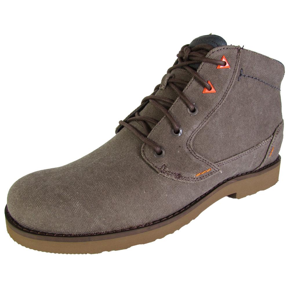 Teva Mens Durban Waxed Canvas Chukka Boot Shoes   EBay