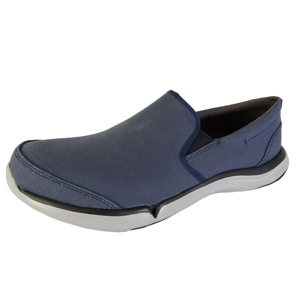 teva mens wander slip on canvas sneaker shoes ebay