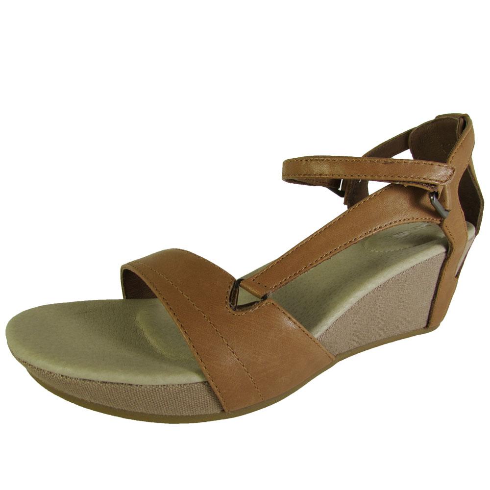 Teva Womens Capri Wedge Open Toe Sandal Shoes Ebay