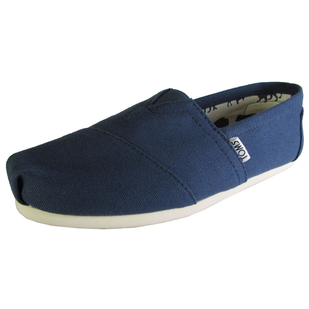 Elastic V Front Slip On Canvas Shoes