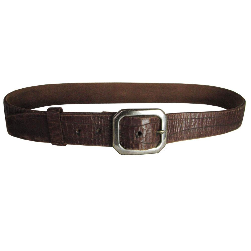 true religion mens single prong designer genuine leather