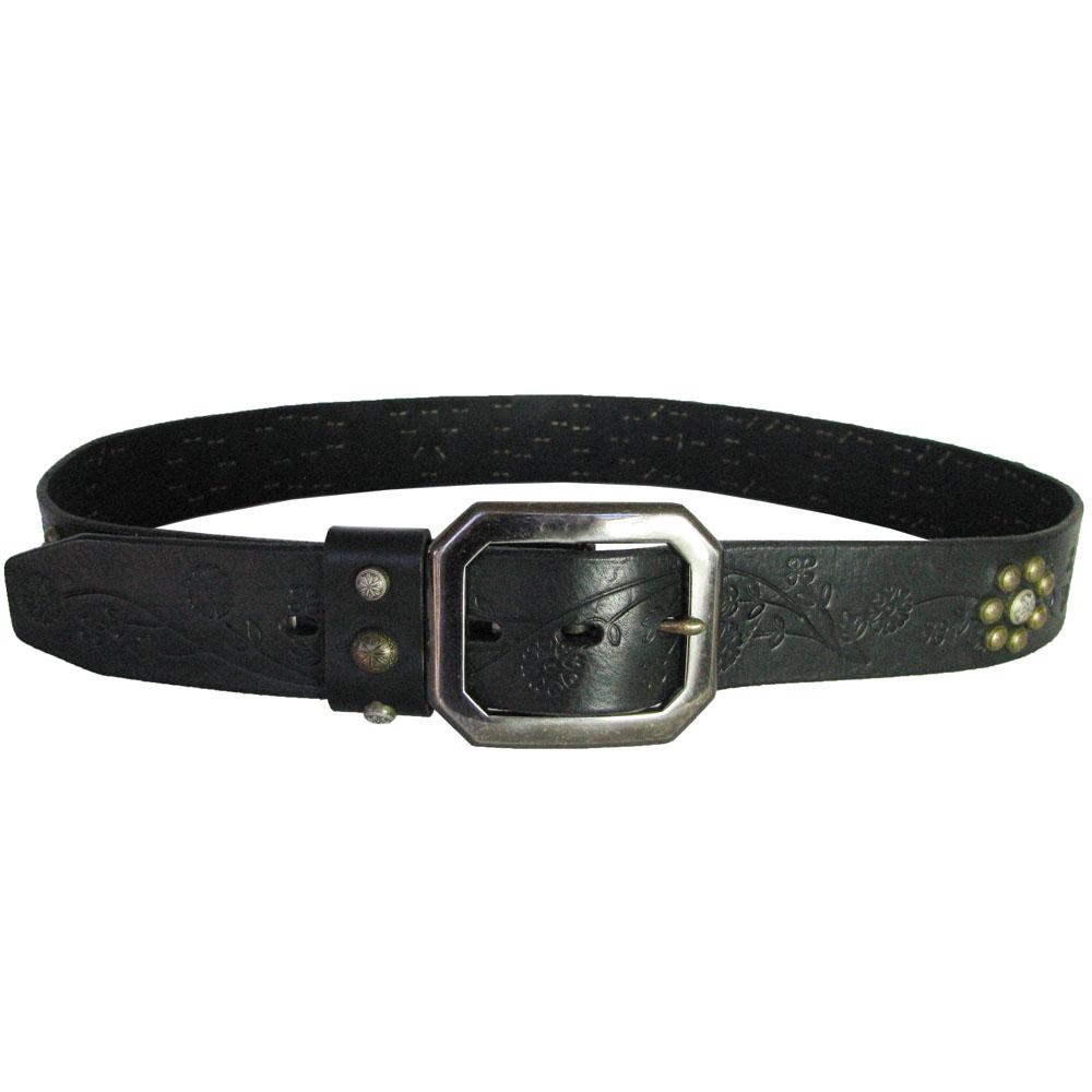 true religion los angeles studded premium leather belt ebay