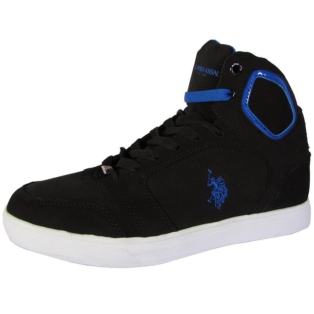 U.S. Polo Assn. Mens Supe P High Top Sneaker Shoes