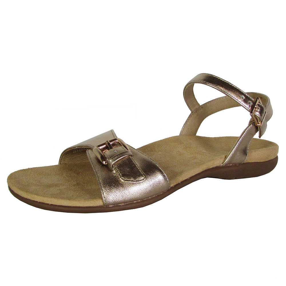 vionic with orthaheel technology womens strappy sandals ebay