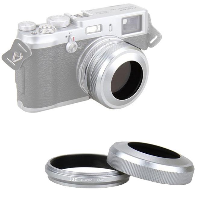 Jjc Lens Hood Adapter Ring Lh Jx100ii For Fuji Fujifilm