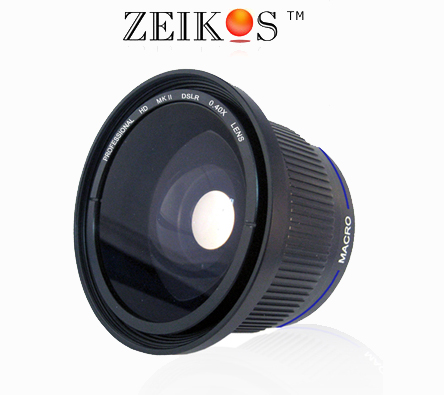 Fish  Lens on Fisheye Lens For Kodak Easyshare Z740 Z710 Z650 Zd710   Ebay