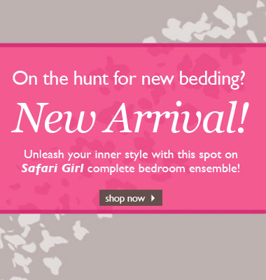 Safari Girl bedding sets