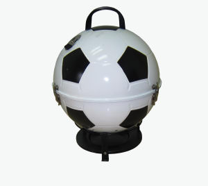 "CC Outdoor Living 19"" Portable Stainless Steel Soccerball Tailgating Charcoal Barbeque Grill at Sears.com"