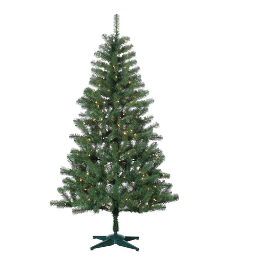 Sterling 6' Pre-Lit Shawnee Pine Artificial Christmas Tree - Clear Lights at Sears.com