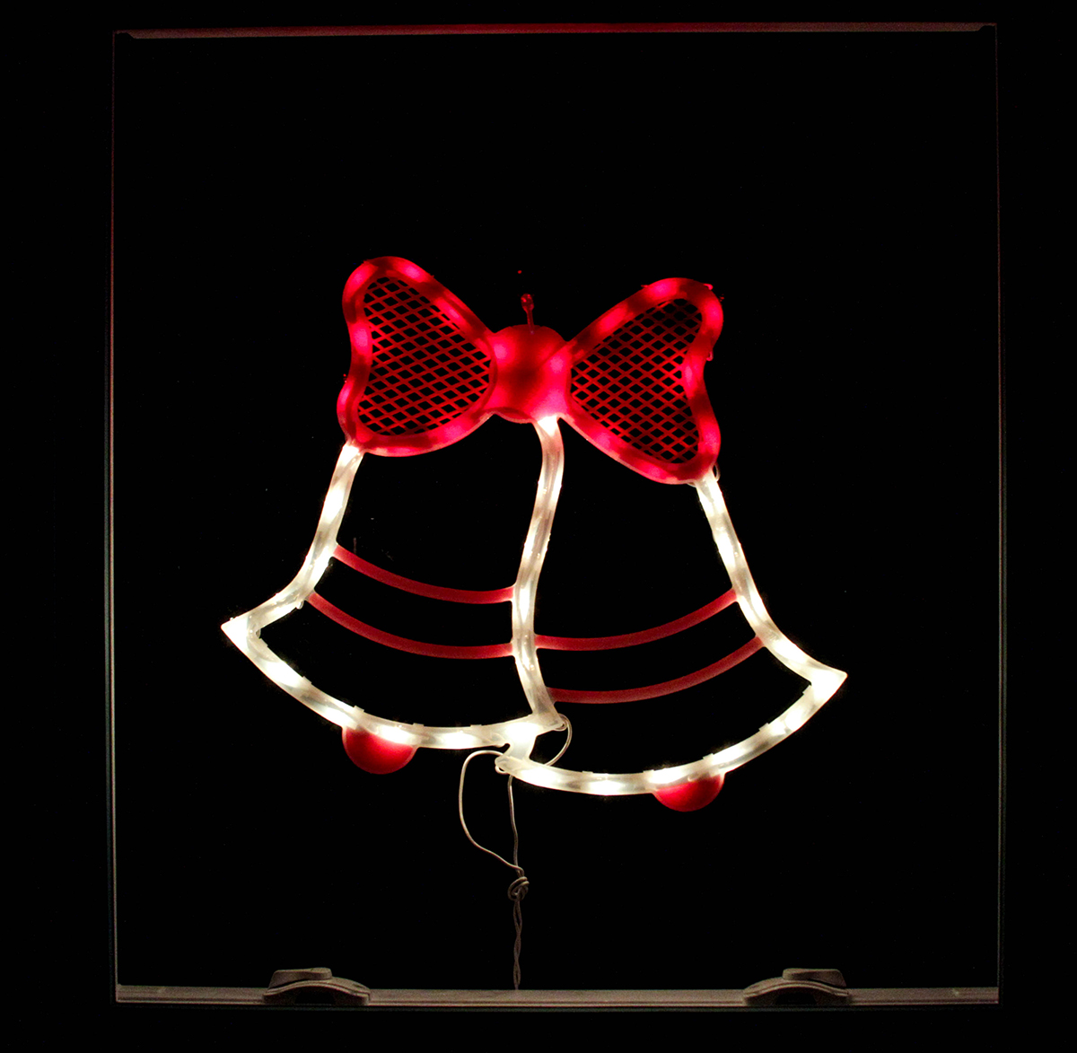 "Impact 14"" Lighted Double Bell Christmas Window Silhouette Decoration at Sears.com"