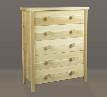 "Eco-Friendly Furnishings 45"" Natural Cedar 5-Drawer Bedroom Clothes Dresser at Sears.com"
