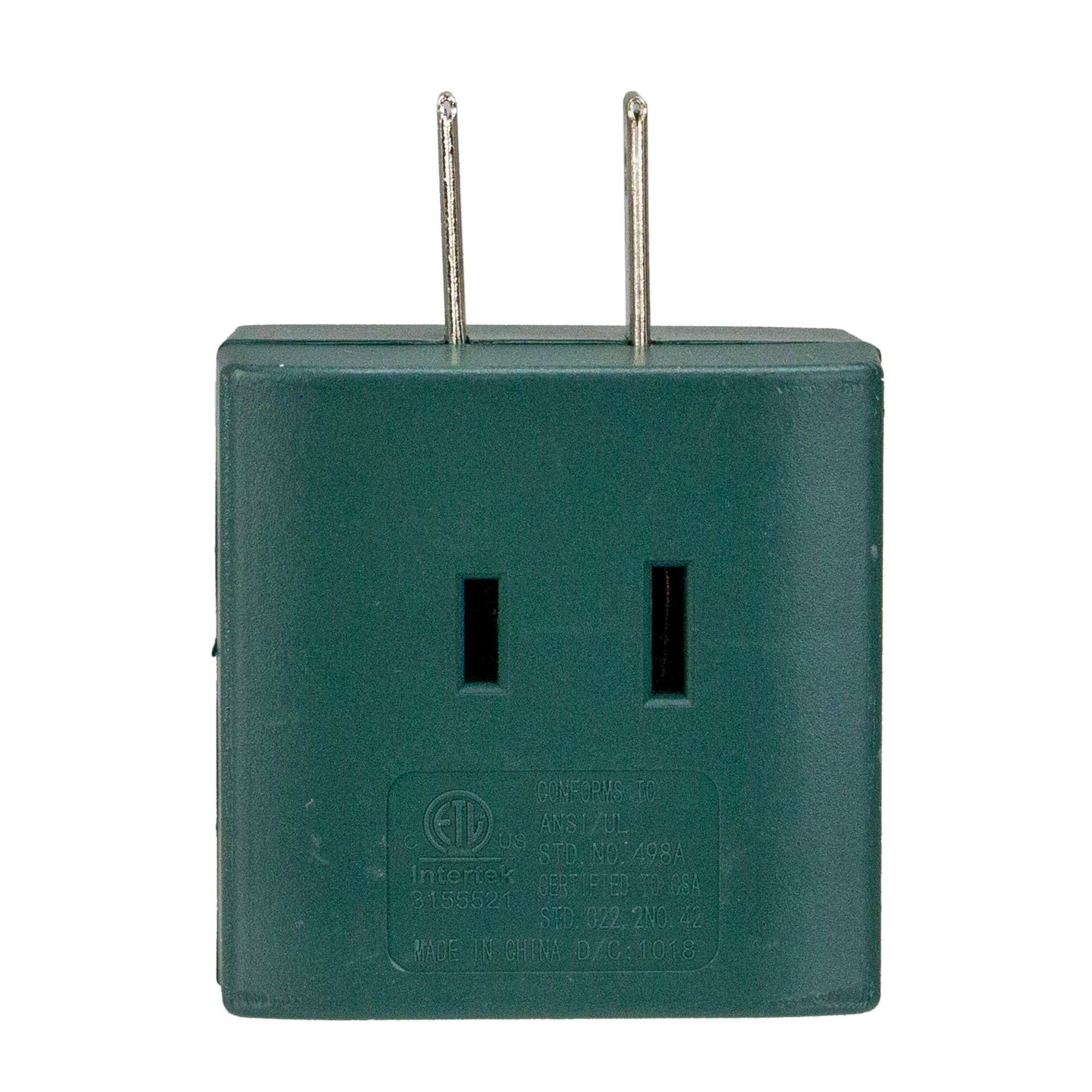 "2.5"" Green Stanley Triple Cube Tap Outlet Adapter"