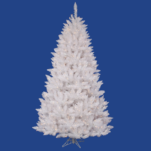7 and 7.5 Foot White Artificial Trees