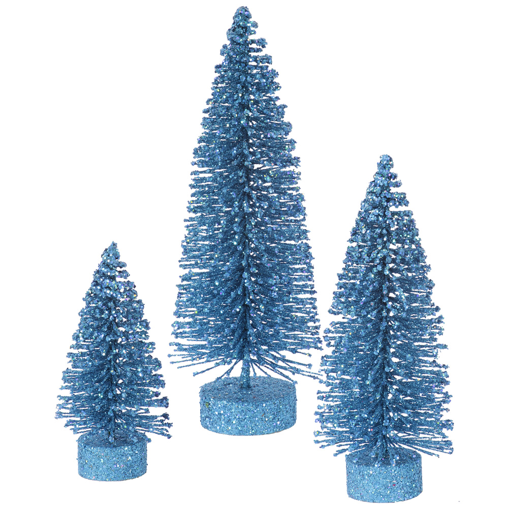 5 and 5.5 Foot Blue Artificial Trees