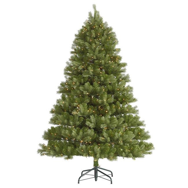 Vickerman 4.5' Pre-Lit Belvedere Spruce Artificial Christmas Tree - Clear LED Lights at Sears.com