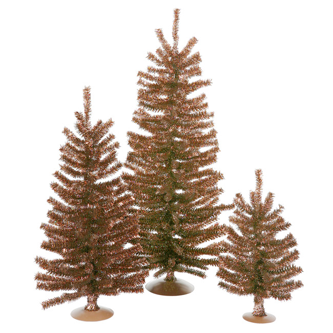3 and 3.5 Foot Brown Artificial Trees