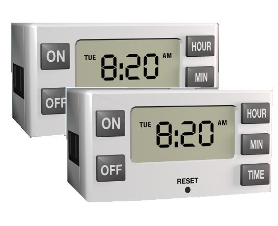 Westinghouse Pack of 2 Westinghouse Indoor Digital Daily Timers at Sears.com