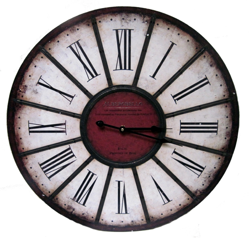 Large Number Wall Decor : Large roman number wall clock art decor quot diameter