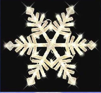 Christmas snowflake window light decor indoor outdoor ebay for 16 lighted snowflake christmas window silhouette decoration