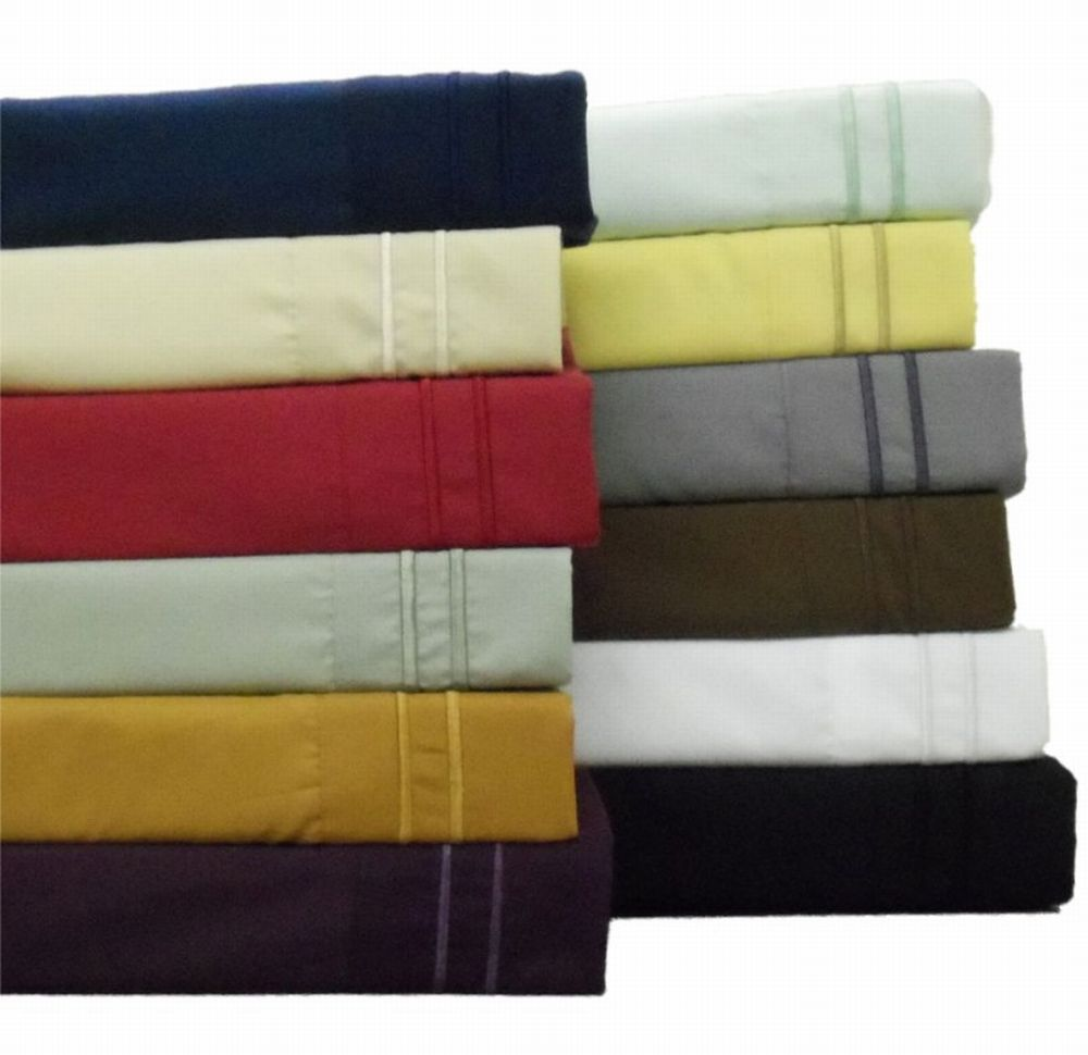 Luxury-Collection-1500-Easy-Care-Microfiber-Sheet-Set-Queen-King-12-Colors