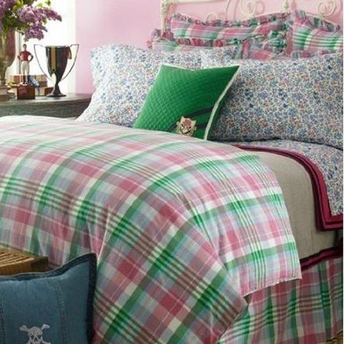 Ralph Lauren University Bedding Caitlin Twin forter
