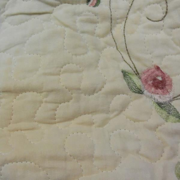 Modern Heirloom Rose Garden King Quilted Bedspread eBay