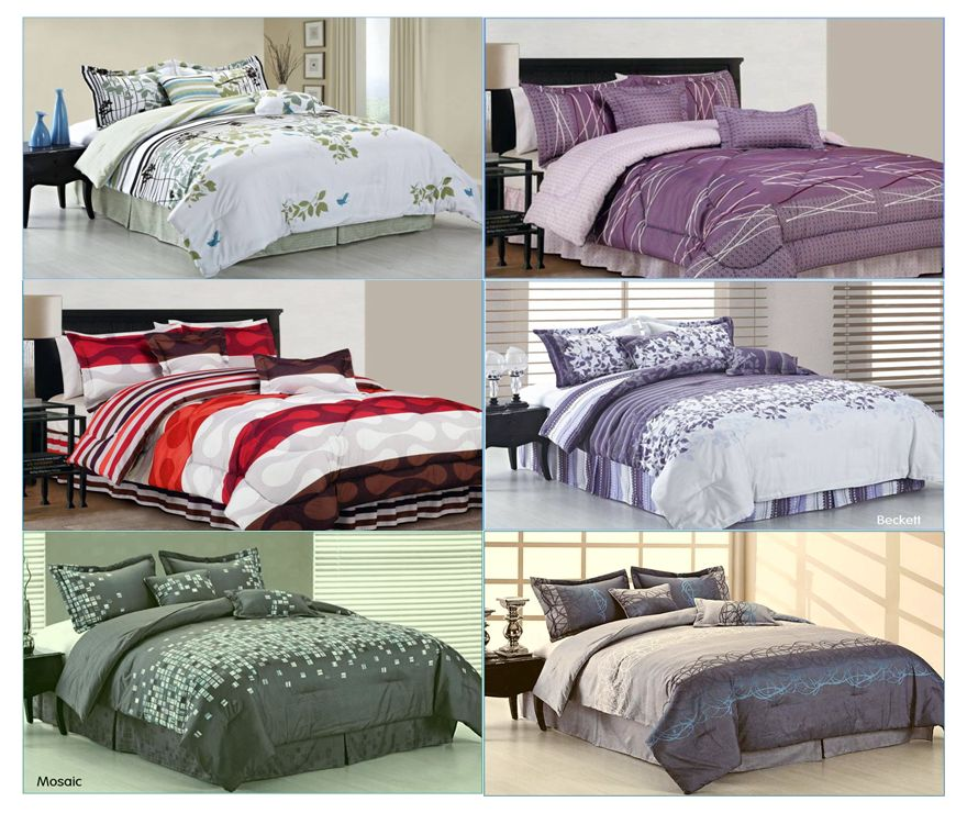 6-Piece-Oversize-Queen-or-King-Comforter-Bed-In-A-Bag-Set-6Designs