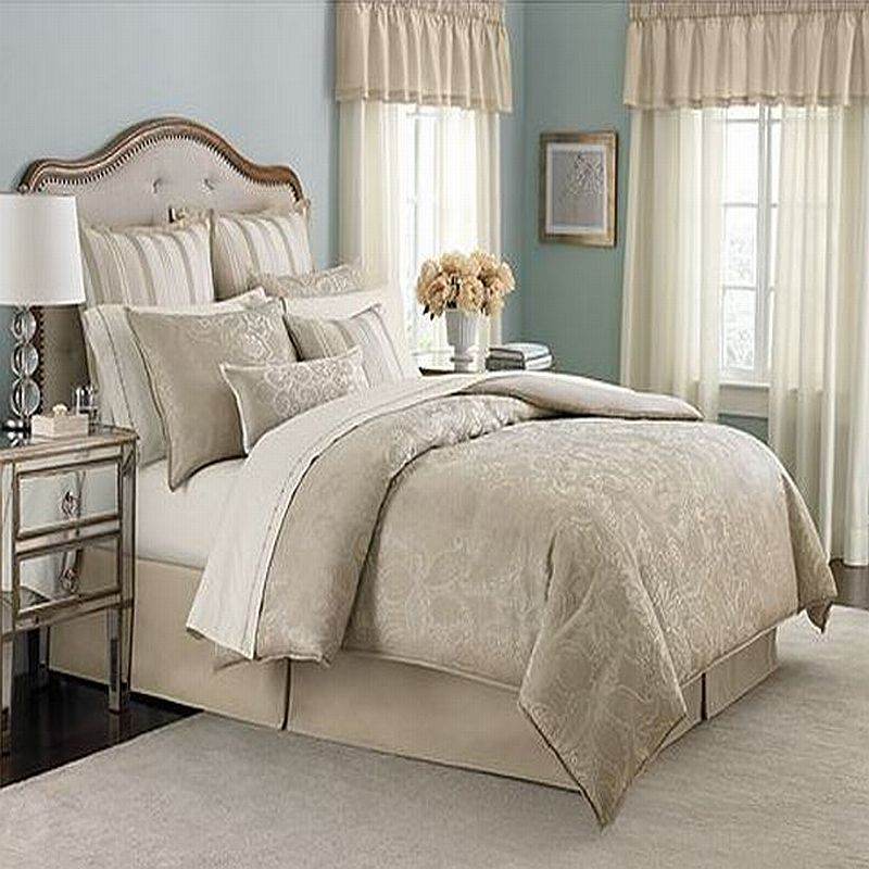 martha stewart gated garden queen 12 piece comforter bed in a bag set ebay. Black Bedroom Furniture Sets. Home Design Ideas