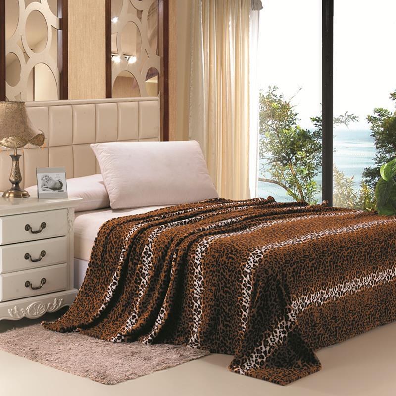 Animal-Prints-Blanket-Leopard-Zebra-4-Colors-Twin-Full-Queen-King
