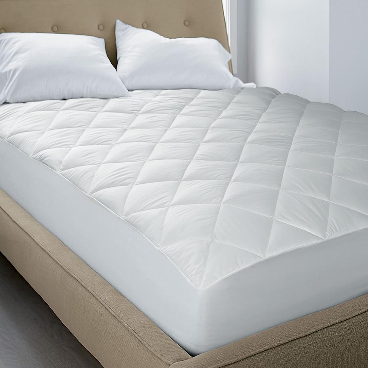 Blue Ridge Blue Ridge Quite Cotton Waterproof Mattress Pad Twin Full Queen King Or Cal King