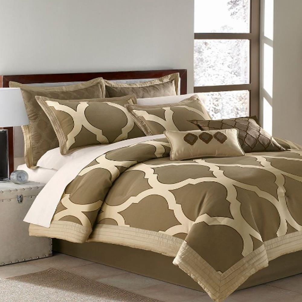 how to put a comforter on a bed