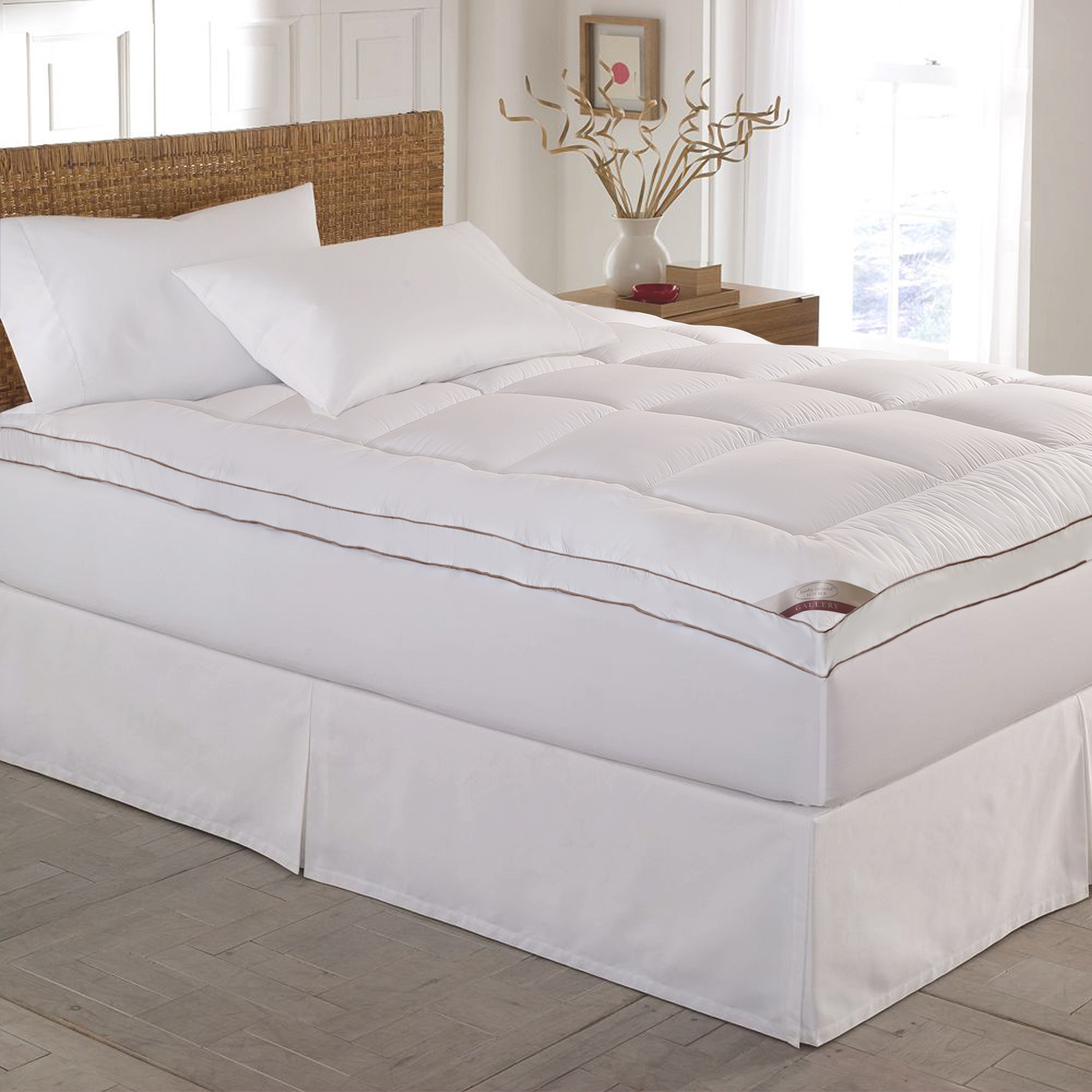 Blue Ridge Kathy Ireland Home Gallery Cotton Gusseted Feather Bed