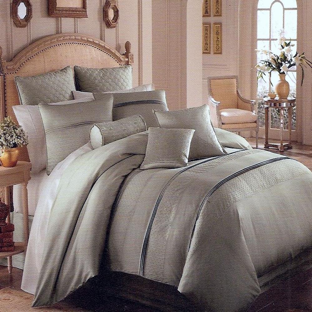 luxe versailles opulence silk full queen duvet cover. Black Bedroom Furniture Sets. Home Design Ideas