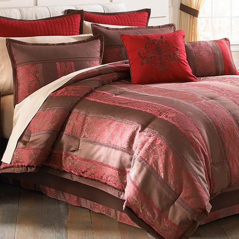 Hallmart Tilmont 20 Piece Queen forter Bed In A Bag Set