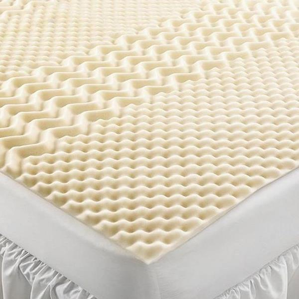 Home Design Visco 5 Zone Full Foam Mattress Pad New Ebay