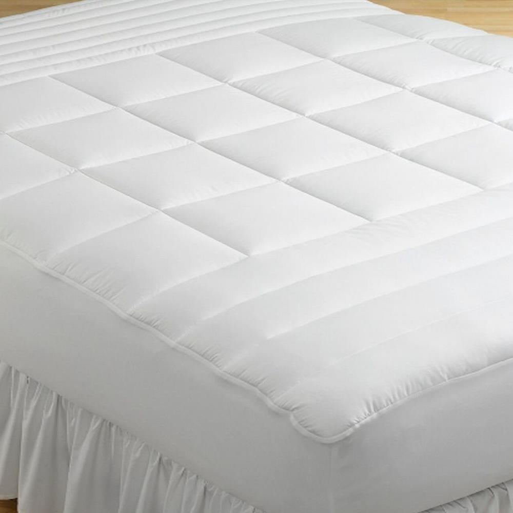 Charter Club Zoned 300T Queen Mattress Pad NEW