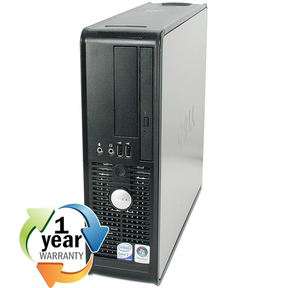 Dell REFURBISHED Dell Optiplex 755SF 1.8GHz CD 1GB 80GB DVD Windows 7 Home Computer PC at Sears.com