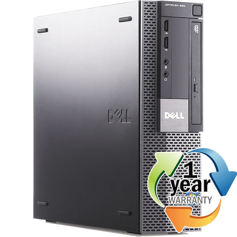 Dell REFURBISHED Dell Optiplex 980 Ci5 3.2GHz 8GB 160GB DVD Win 7 Pro64 SFF Desktop PC at Sears.com
