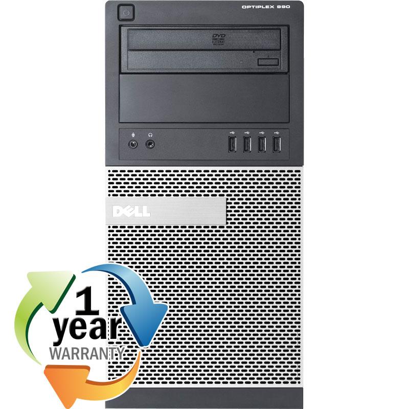 Dell REFURBISHED Dell Optiplex 990 Ci5 3.1GHz 4GB 250GB DVD Win 7 Pro Mini Tower Computer PC at Sears.com