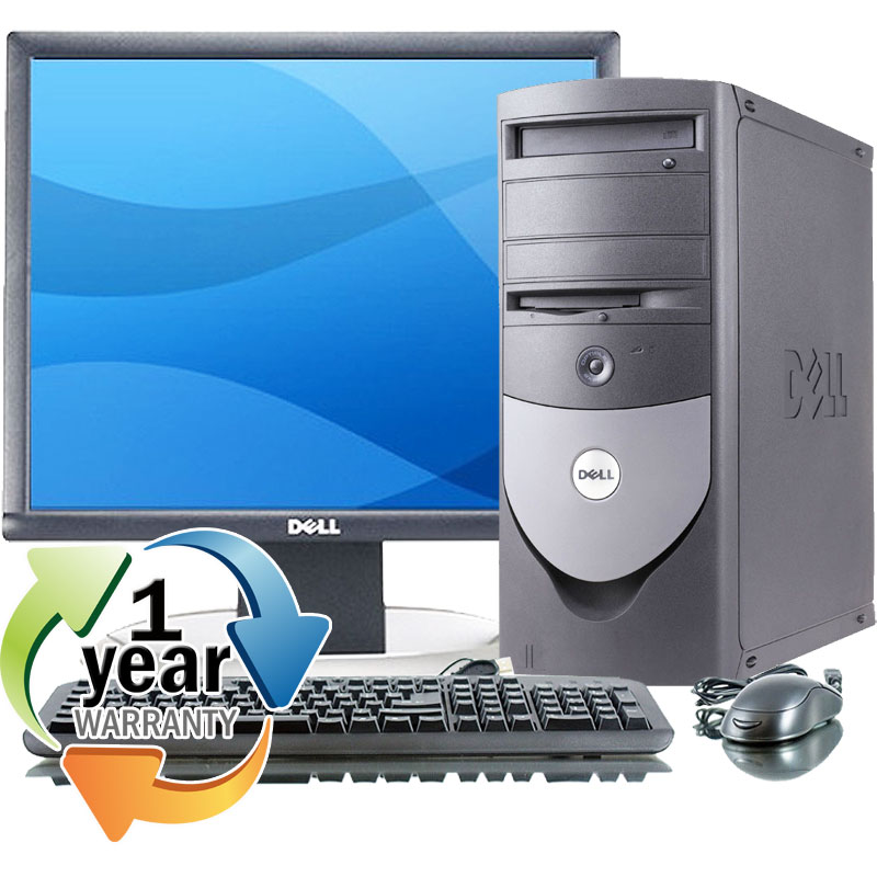 Dell REFURBISHED Dell Optiplex GX280MT P4 2.8GHz 1024MB 40GB CD XP Pro Desktop Computer at Sears.com