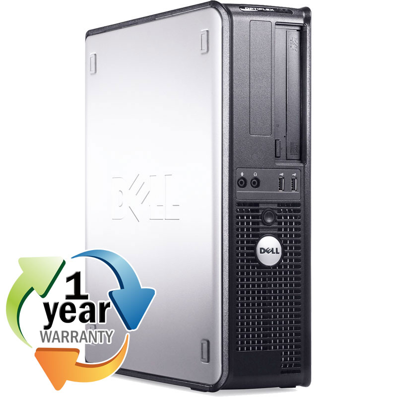 Dell REFURBISHED Dell Optiplex GX620LP 2.8GHz PD 4GB 40GB DVD Windows XP Desktop Computer at Sears.com