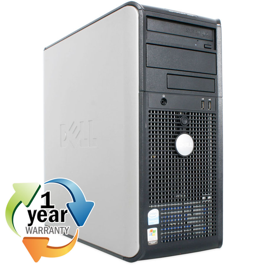 Dell REFURBISHED Dell Optiplex GX620MT 2.8PD 4GB 80GB DVD-Rom Win XP Pro Desktop Computer at Sears.com