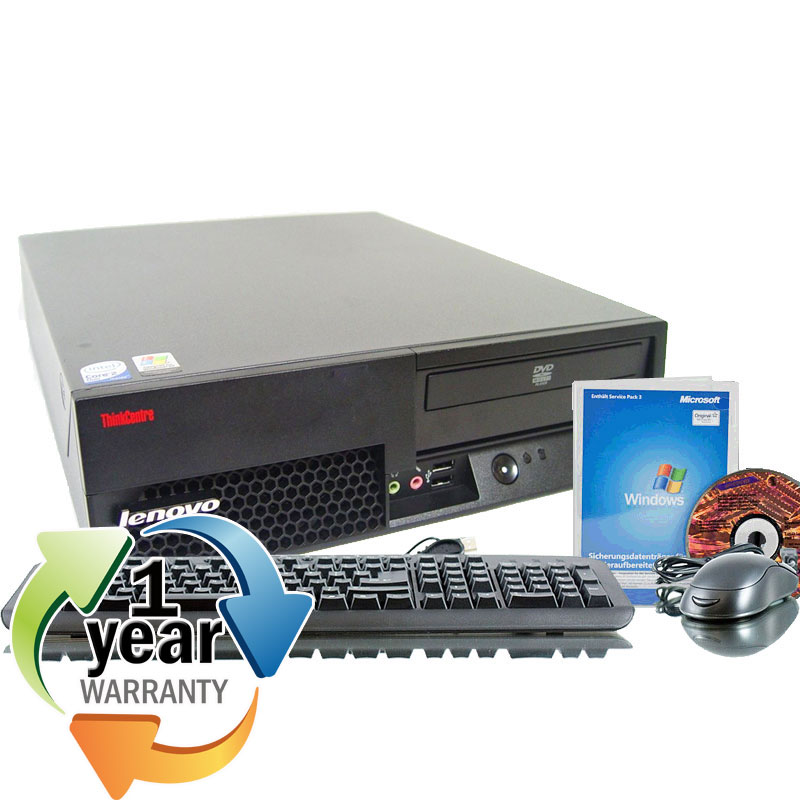 IBM REFURBISHED IBM Lenovo M55 Core 2 Duo 1.8Ghz 2GB 80GB DVD Win 7 Pro Desktop Computer at Sears.com