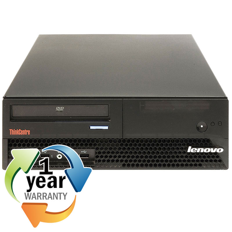 Lenovo REFURBISHED IBM Lenovo M57p Core 2 Duo 2.3GHz 4GB 400GB DVD Win 7 Home Desktop Computer at Sears.com