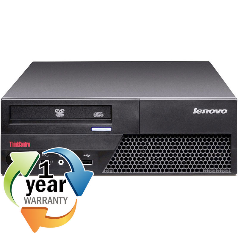 Lenovo REFURBISHED IBM Lenovo M58p Core 2 Duo 3.0GHZ 8GB 400GB DVD Win 7 Pro64 Desktop Computer at Sears.com