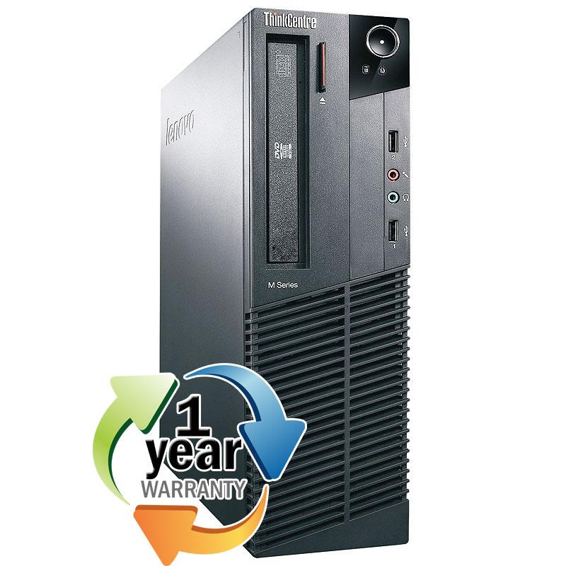 Lenovo REFURBISHED Lenovo ThinkCentre M82 3.2GHz i5 8GB 400GB DVD Win 7 Pro Desktop Computer PC at Sears.com