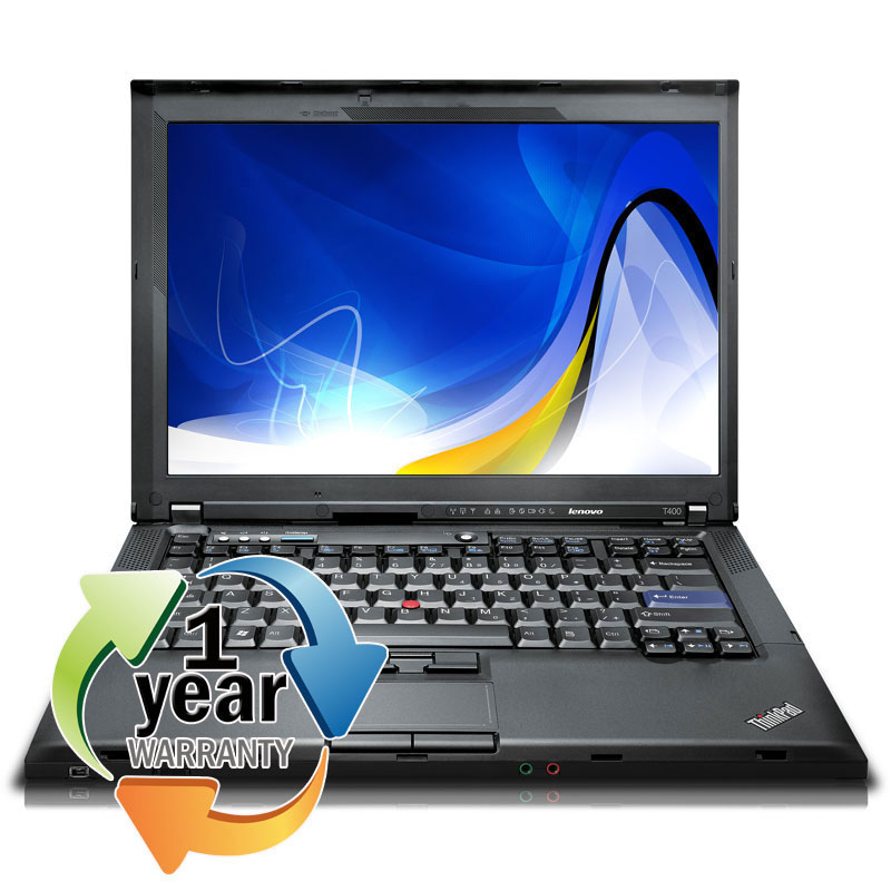 IBM Lenovo REFURBISHED IBM ThinkPad T400 2.4Ghz 2GB 160GB CDRW/DVD Win 7 Professional Laptop at Sears.com
