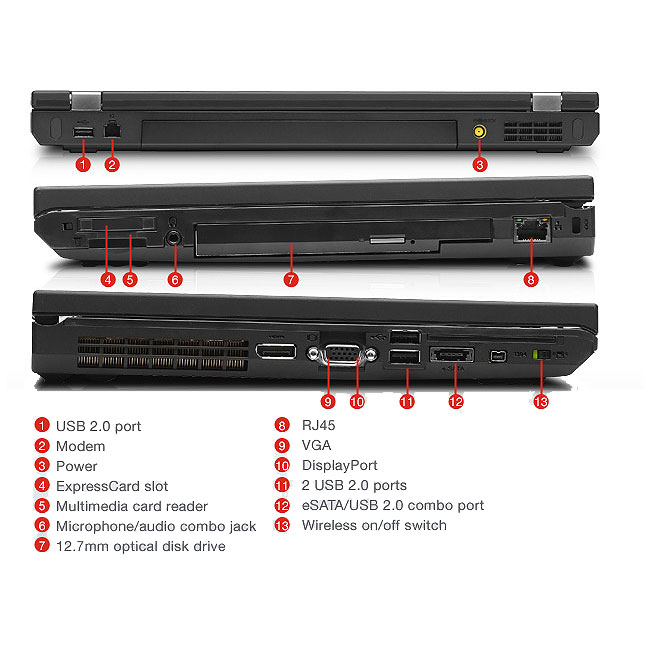 T510 dimm slots