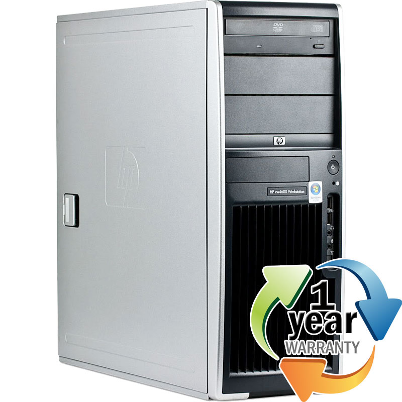HP REFURBISHED HP xw4600 Workstation C2D 3.0GHz 4GB 1TB DVD/CDRW Win 7 Pro Desktop at Sears.com